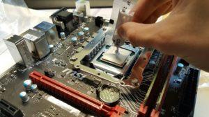 PC-Konfigurator Zusammenbau